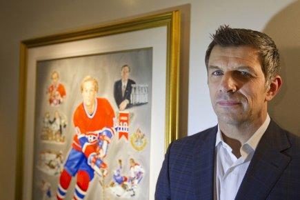 Le nouveau directeur général du Canadien, Marc Bergevin.... (Photo: Ivanoh Demers, La Presse)