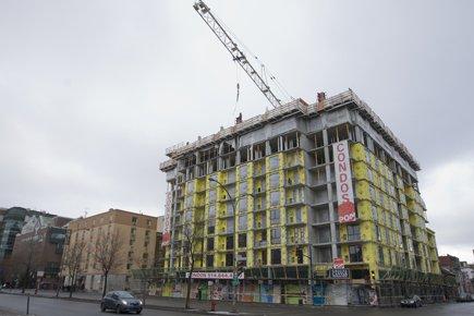 La construction de condos affiche une hausse cumulative... (Photo: Ivanoh Demers, La Presse)