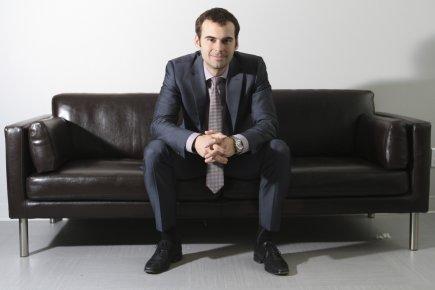 Hugues Foltz, président de la PME Ellicom... (Photo Stéphane Champagne, collaboration spéciale)