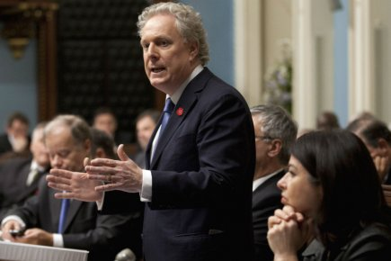 Jean Charest... (Photo Jacques Boissinot, PC)