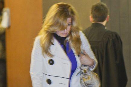 Carole Morinville était au palais de justice de... (Photo Ivanoh Demers, La Presse)