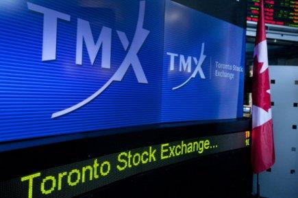 La Bourse de Toronto a clôturé la séance de vendredi en baisse, tirée vers le...