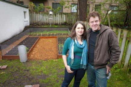 Tereska Gesing et Shawn Manning, cofondateur de l'entreprise... (Photo André Pichette, La Presse)