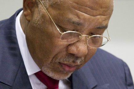 La défense de l'ancien président du Liberia Charles Taylor,  reconnu coupable... (Photo: Peter Dejong, Archives Reuters)