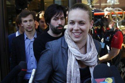 La présidente de la FEUQ, Martine Desjardins.... (Photo: Yan Doublet, Le Soleil)