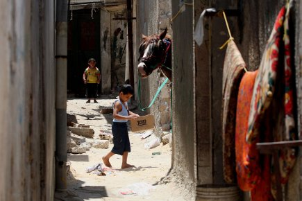 Selon l'ONU, la demande maximale de Gaza est... (Photo: AFP)