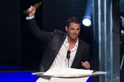 Philippe Bond, l'animateur de l'émission The Price is... (Photo: La Presse)