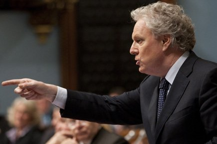 Le premier ministre Jean Charest... (Photo: PC)