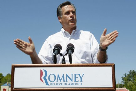 Mitt Romney... (Photo Jessica Rinaldi, Reuters)