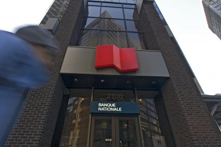 Une succursale de la Banque Nationale.... (Photo: Patrick Sanfaçon, archives La Presse)