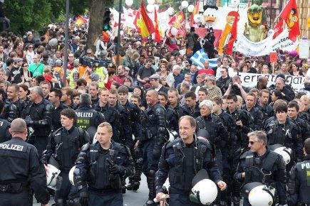 À l'exception d'un défilé samedi dans le centre-ville... (Photo: AP)