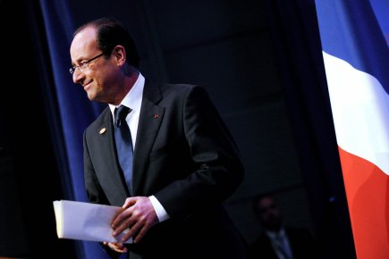 François Hollande a assuré vendredi que les «classes... (Photo : Olivier Douliery, AFP)