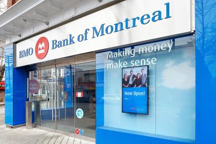 Une succursale de la Banque de Montréal.... (Photo: archives La Presse)
