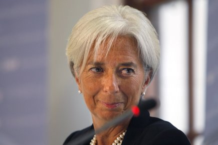La directrice générale du Fonds monétaire international (FMI),... (Photo Reuters)