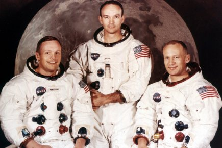 Neil Armstrong,  Michael Collins et Edwin A.... (Photo archives AP)