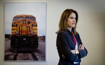 Zoë Yujnovich, PDG d'Iron Ore du Canada.... (Photo Marco Campanozzi, La Presse)