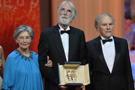 Michael Haneke a remporté la Palme d'or du... (AFP)