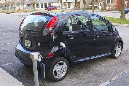 Si la batterie de la i-MiEV est complètement... (Photo collaboration spéciale Paul-Robert Raymond)