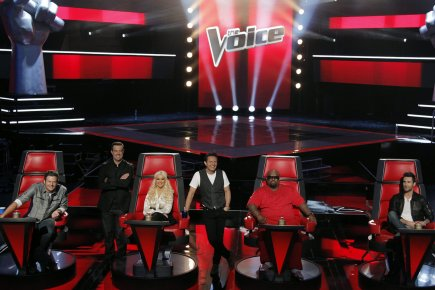 Le succès de The Voice à NBC n'est... (Photo: AP)