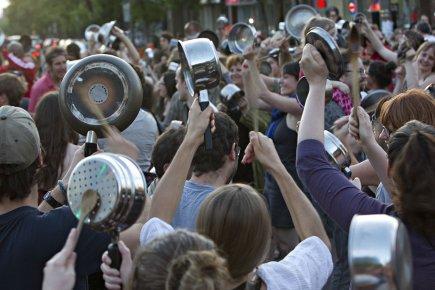Le conflit étudiant a bousculé la tranquillité et... (Photo Bernard Brault, La Presse)