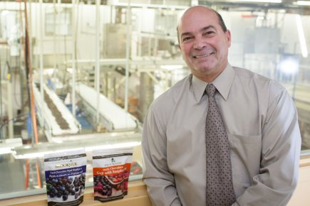 Réal Lafleur, directeur général d'Aliments Brookside.... (Photo Olivier Pontbriand, La Presse)