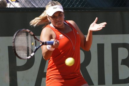 Aleksandra Wozniak a gagné en simple et en... (Photo: AFP)