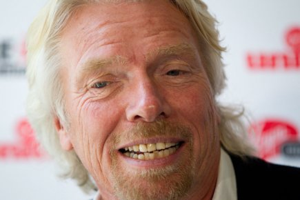 Richard Branson... (Photo PC)