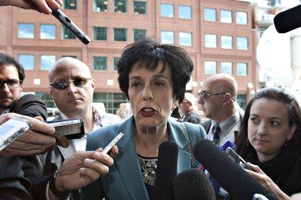 Michelle Courchesne, ministre de l'Éducation.... (Photo PC)