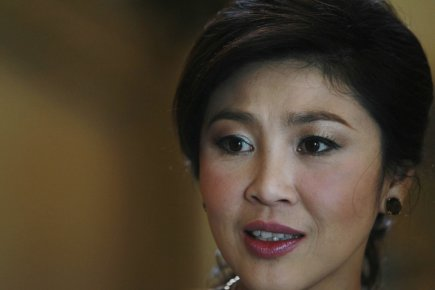 Yingluck Shinawatra... (Photo : Sukree Sukplang, Reuters)