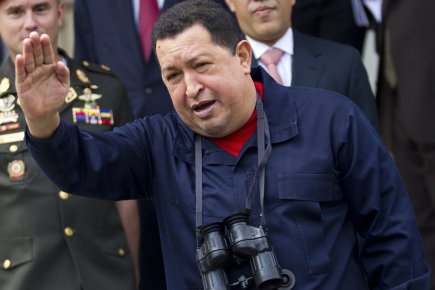Hugo Chavez... (Photo : Carlos Garcia Rawlins, Reuters)