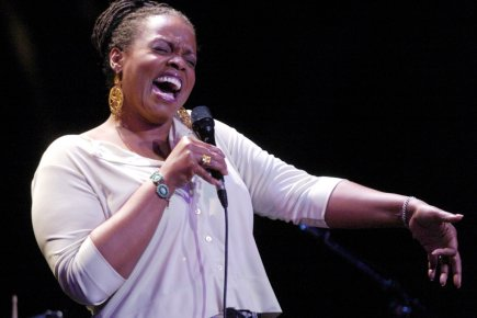 Dianne Reeves sera au 58e Newport Jazz Festival.... (Photo archives La Presse)