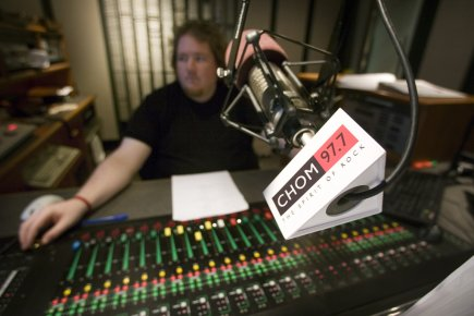 En 2011, les stations FM commerciales canadiennes (francophones,... (Photo Patrick Sanfaçon, archives La Presse)