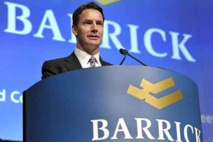Barrick Gold vient de changer son chef de... (Photo Reuters)