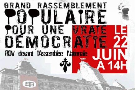 Sur la page Facebook de la manifestation nationale... (Image tirée de Facebook)