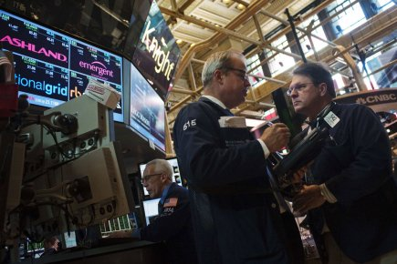 Bourse de New York... (Photo Reuters)