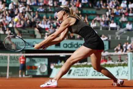 Maria Sharapova... (Photo : Kenzo Tribouillard, AFP)