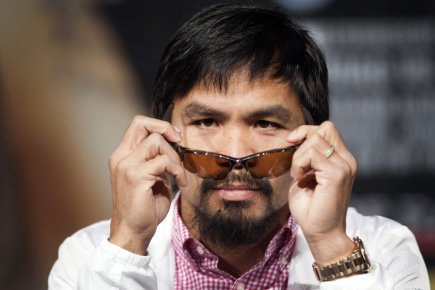Manny Pacquiao... (Photo : Steve Marcus, Reuters)