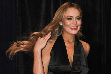 Lindsay Lohan... (Photo: Nicholas Kamm, Archives Agence France-Presse)