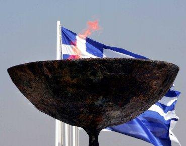 Les Jeux olympiques d'Athènes.... (Photo AFP)