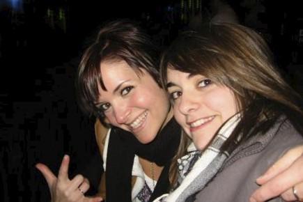 Noémi et Audrey Bélanger ont été retrouvées sans... (Photo tirée de Facebook)