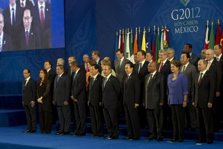Dans leur déclaration finale, les dirigeants du G20... (Photo Associated Press)