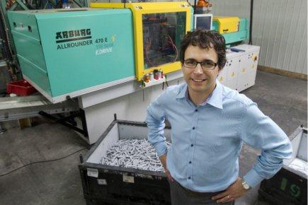 Martin Lussier, vice-président, développement des affaires, chez Plombco... (Photo Robert Skinner, La Presse)