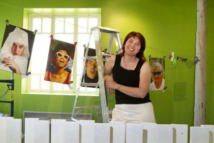 La directrice du MUSO, Annabelle Laliberté, espère accueillir... (Photo Robert Skinner, La Presse)