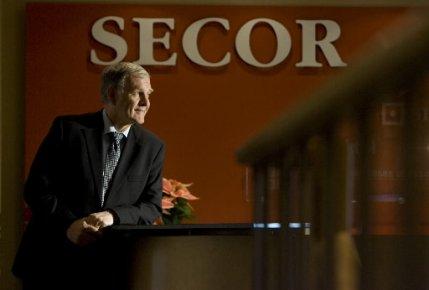 Un des fondateurs de Secor, Marcel Côté....
