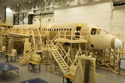 Des employés de Bombardier ont fabriqué un modèle... (Photo: Bombardier)