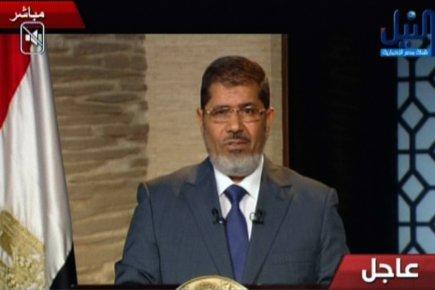 «Nous préserverons les traités et chartes internationaux», a... (Photo: Agence France-Presse/Nile TV)