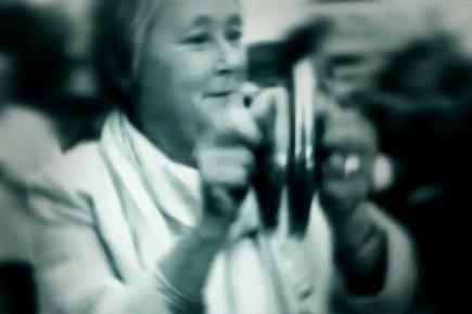 Pauline Marois dans une publicité du PLQ.... (Image tirée d'internet)