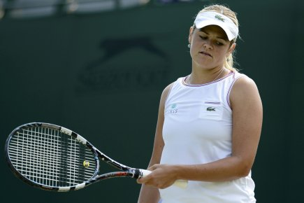 Aleksandra Wozniak s'est inclinée 6-4, 6-2 devant la... (Photo: Reuters)