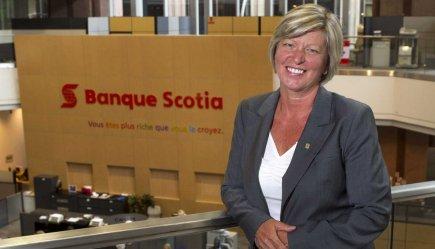 Carole Chapdelaine, première vice-présidente, Région Québec et est... (Photo Robert Skinner, La Presse)