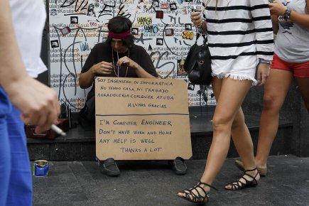 L'Espagne voit  encore son niveau augmenter en... (Photo: Reuters)
